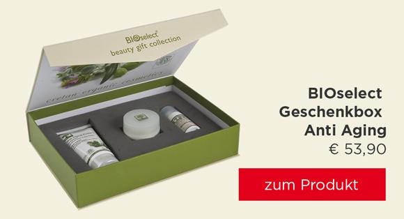 BIOselect Geschenkbox Anti Aging
