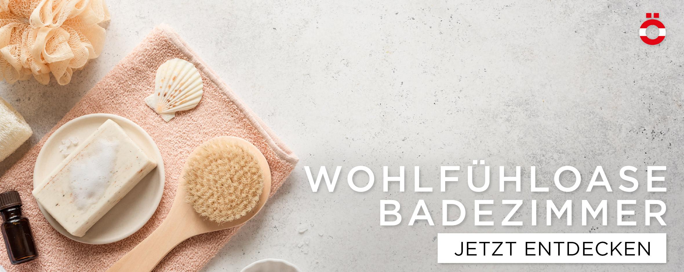 Wohlfühloase Badezimmer - shöpping.at