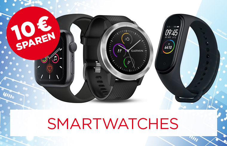 Smartwatches in Aktion