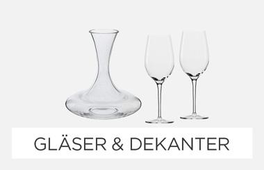 Weingläser & Dekanter
