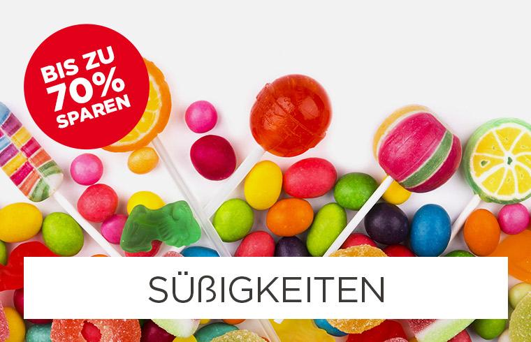 Bis zu -77% auf Zuckerl & Süßigkeiten