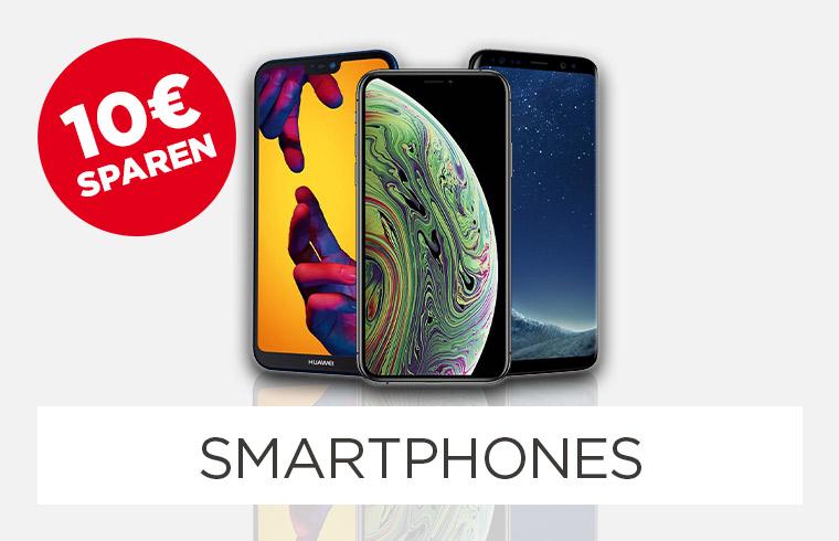 10€ spare auf Smartphones