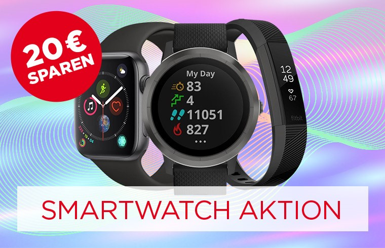 20 € sparen auf Smartwatches & Fitnesstracker