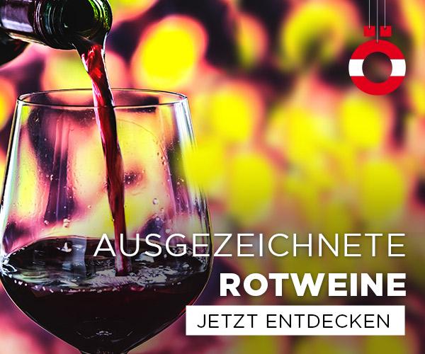 Ausgezeichnete Rotweine