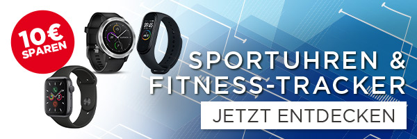 Fit ins neue Jahr - Sportuhren & Fitnesstracker