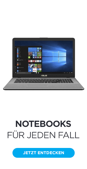 Notebooks für jeden Fall