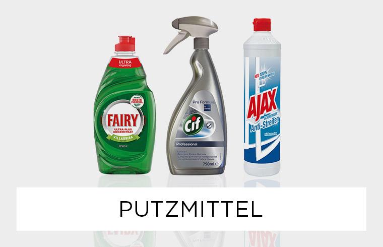 Reinigungsgeräte - Frühjahrsputz
