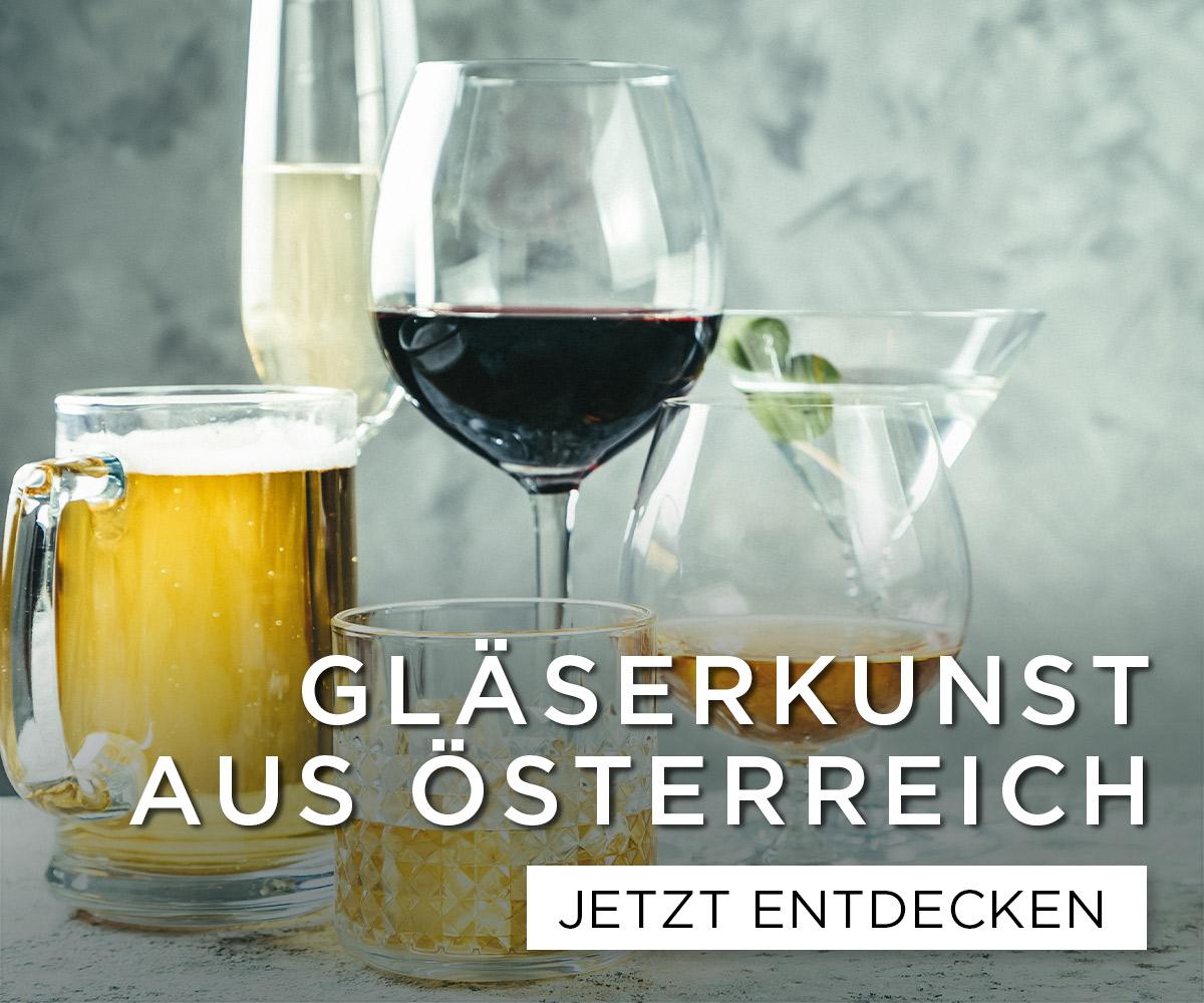 Gläser aus Österreich