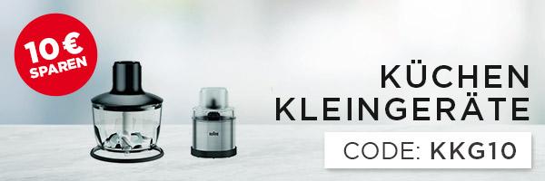 10€ sparen auf Küchenkleingeräte