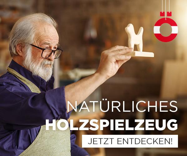 Natürliches Holzspielzeug