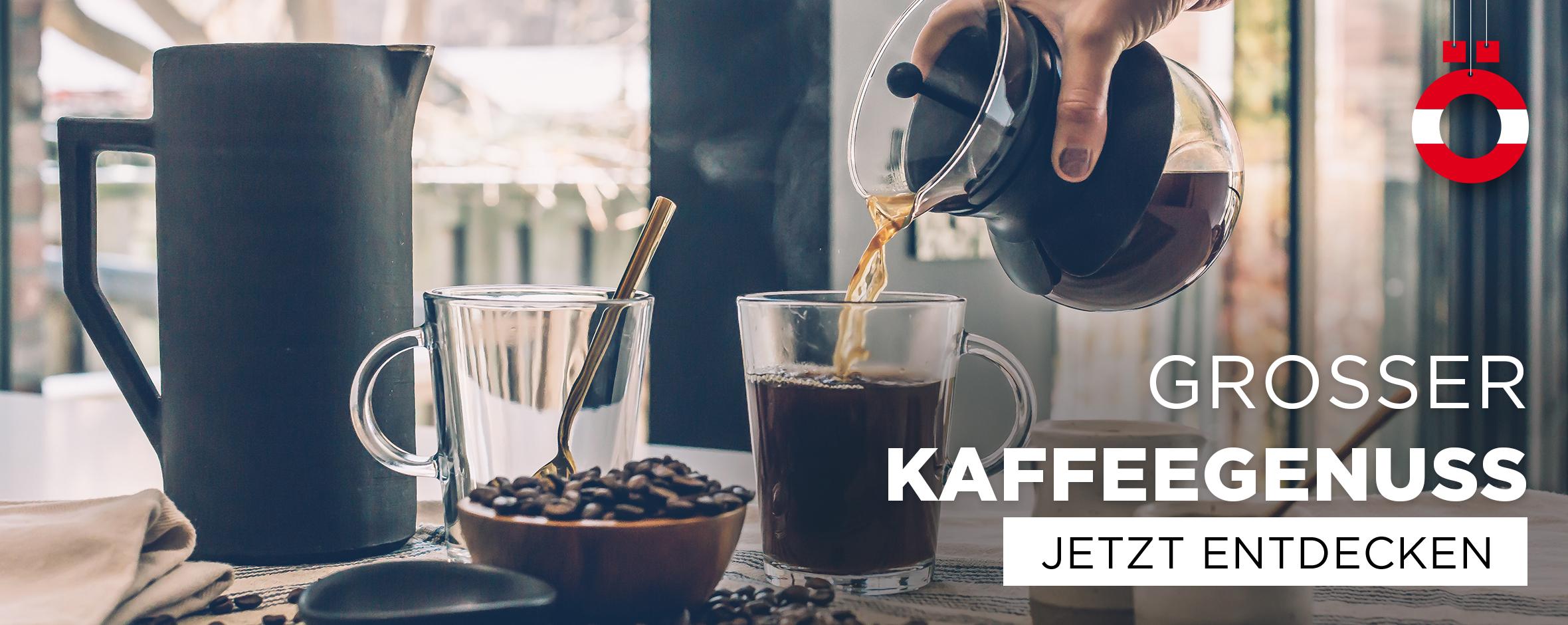 Großer Kaffeegenuss