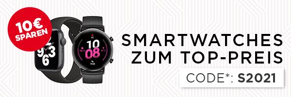 10€ sparen beim Kauf von Smartwatches, Fitnesstrackern und Sportuhren - shöpping.at