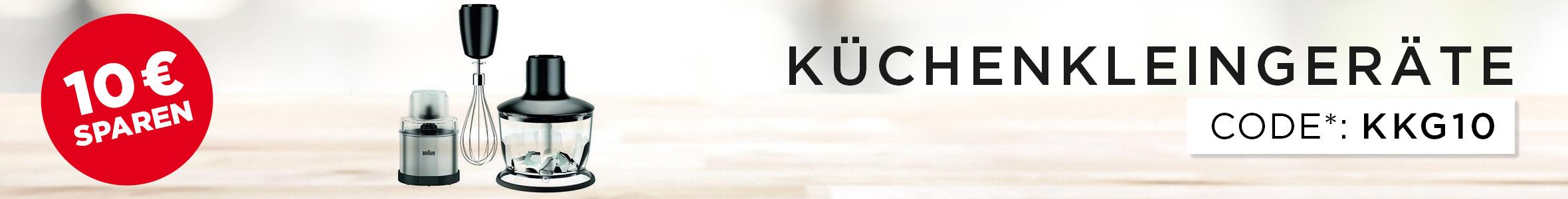 Küchenkleingeräte Aktion - 10€ sparen