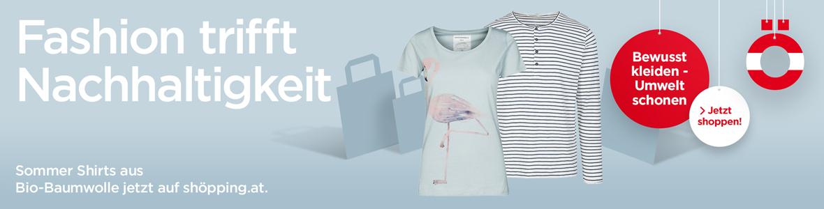T-Shirts aus Bio-Baumwolle