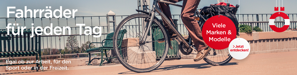 Fahrräder für jeden Tag