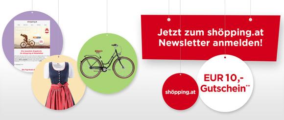 Newsletter Anmeldung 10€