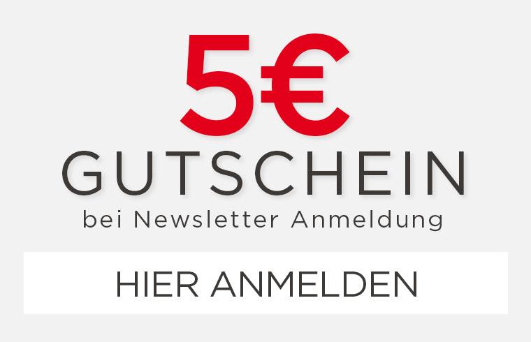 5€ Gutschein bei Newsletter Anmeldung - shöpping.at