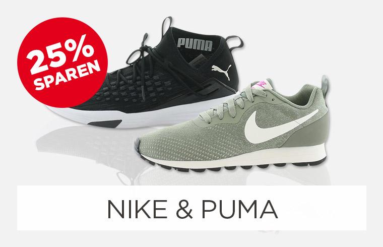 Nike & Puma Aktion