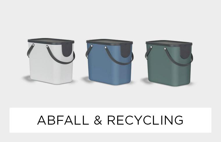 Abfall & Recycling - Ordnung in der Küche