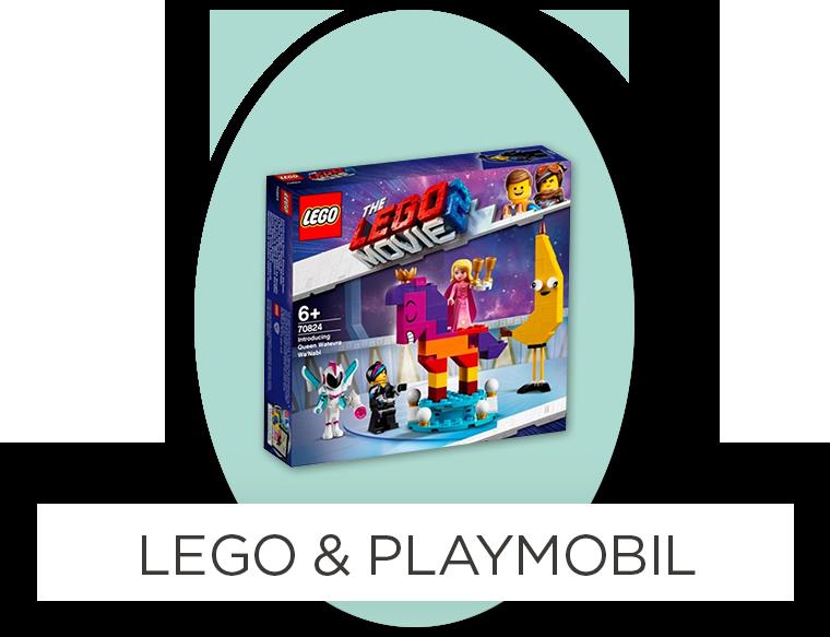Ostergeschenke für Kinder - Lego & Playmobil