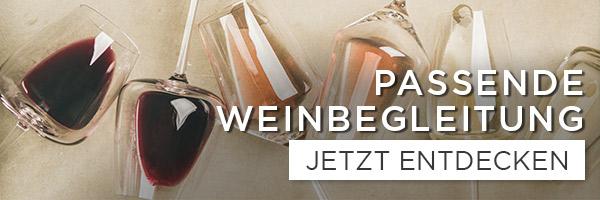 Perfekte Weinbegleitung - shöpping.at