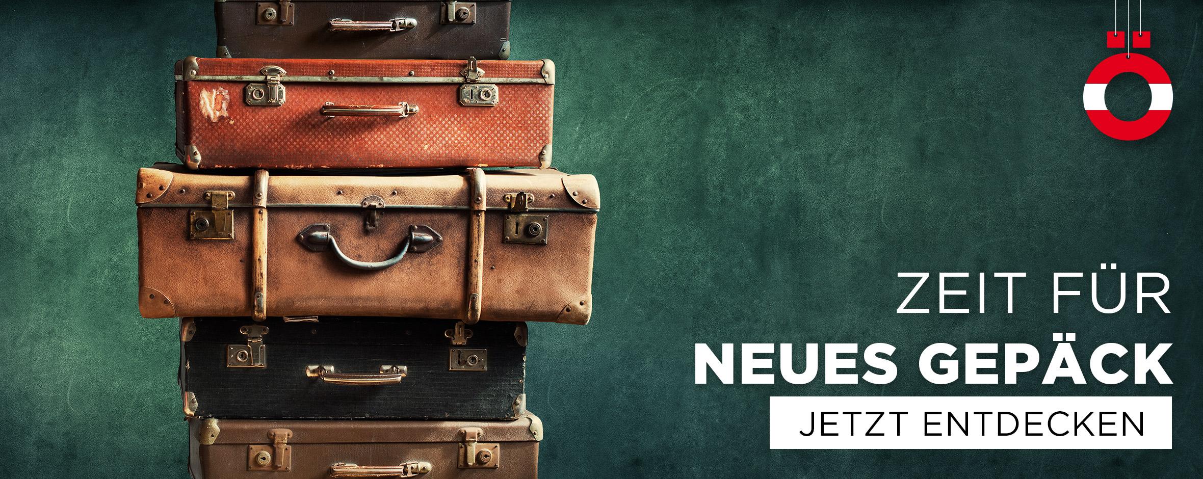 Zeit für neues Gepäck