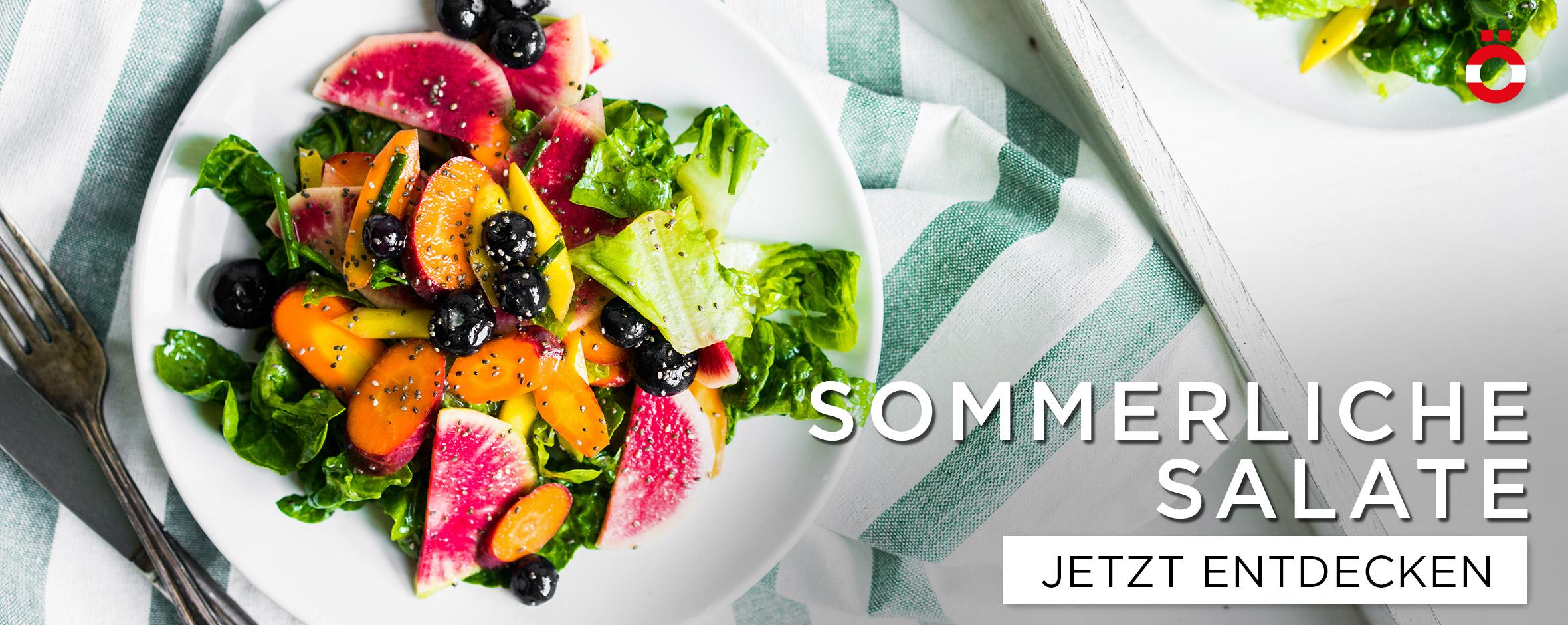 Somerliche Salate