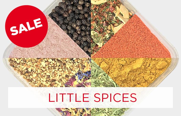 15% sparen auf Little Spices Gewürzboxen