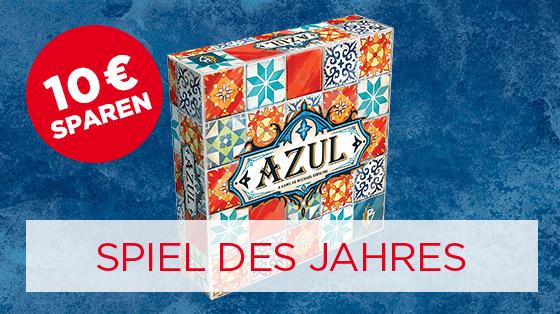 10€ sparen auf das Spiel des Jahres 2018 Azul