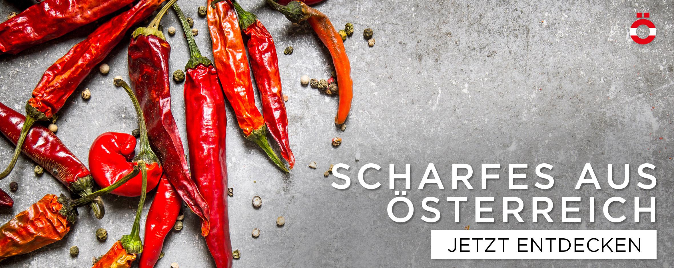 Scharfes aus Österreich - shöpping.at