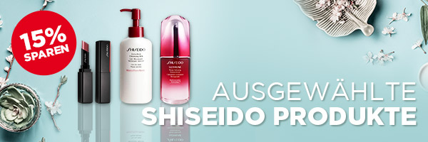 -15% auf Shiseido