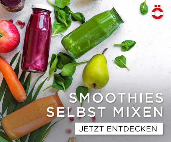 Smoothies selbst mixen - shöpping.at