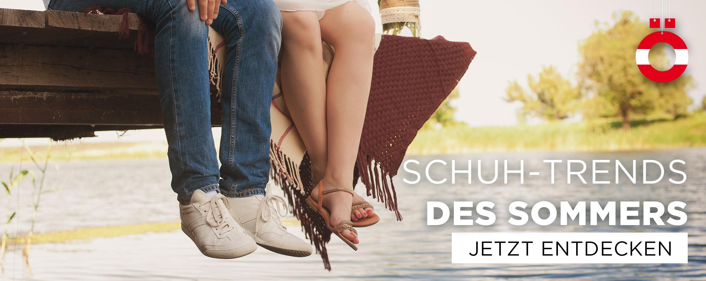 Schuh-Trends des Sommers