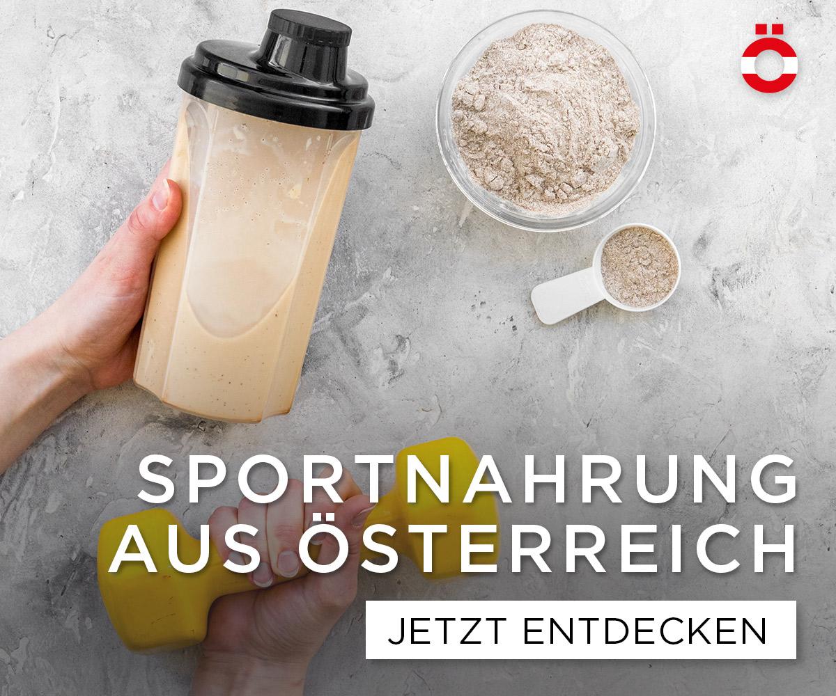 Sportnahrung aus Österreich - shöpping.at