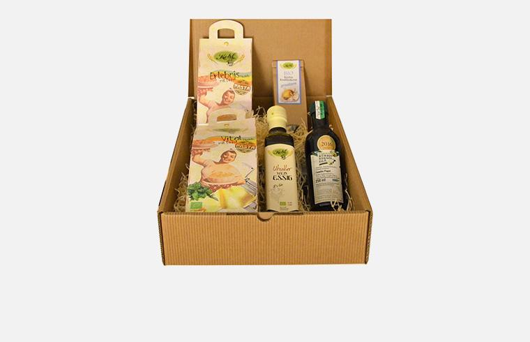 Geschenkbox Pasta