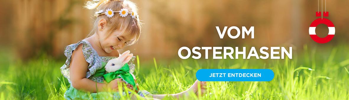 Geschenke vom Osterhasen für Kinder
