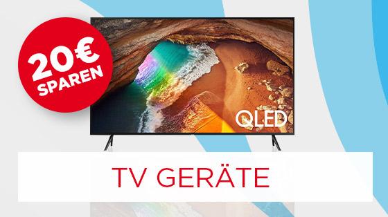 20€ sparen auf TV Geräte