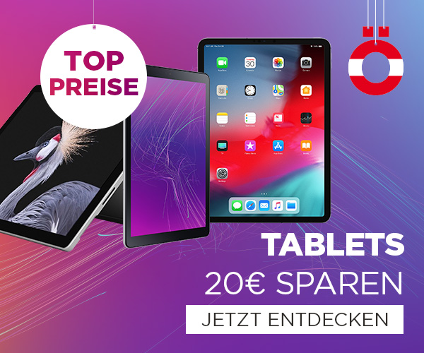 20 € Gutschein auf Tablets
