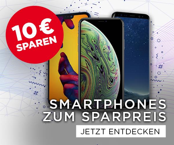20 € sparen auf Ihr neues Smartphone
