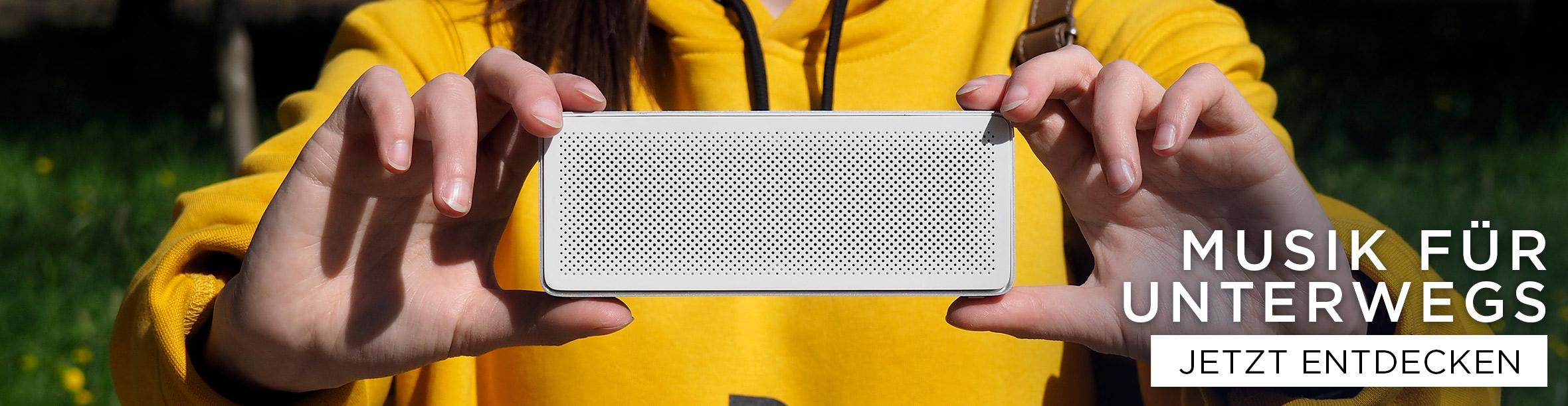 Musik für Unterwegs - Bluetooth Boxen