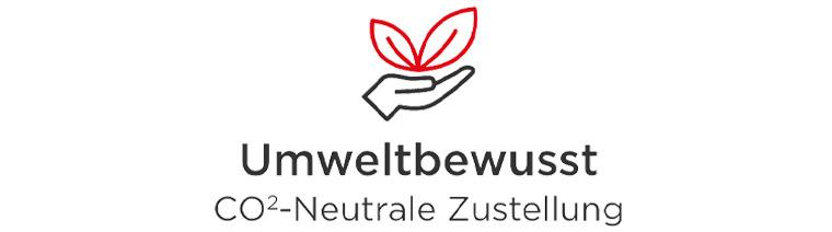 Umweltbewusst - CO2-neutrale Lieferung