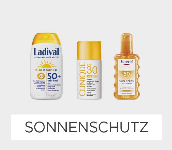 Sonnenschutz & -pflege