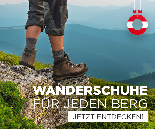 Wanderschuhe für jeden Berg