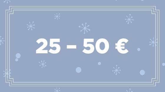 Geschenke zwischen 25 - 50 €