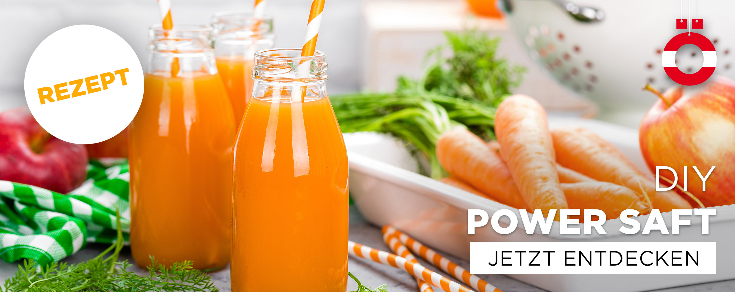 DIY Power Saft Rezept