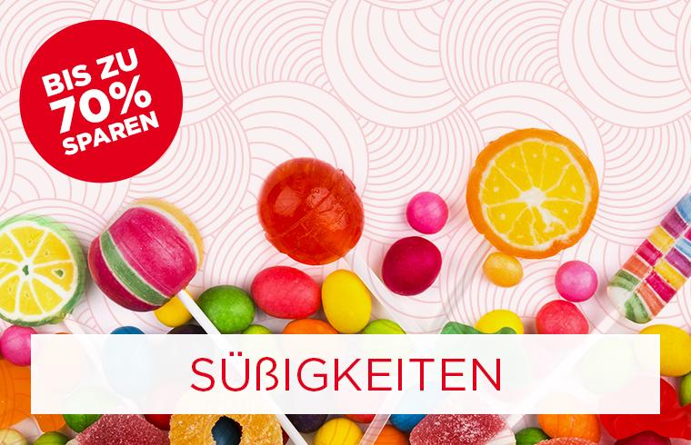 Bis zu -70% auf Süßigkeiten