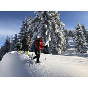 Schneeschuhwandern und Winterwandern im Nationalpark Kalkalpen