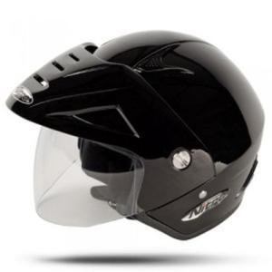 Halbschalen Helm Urban X512V schwarz