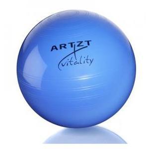 ARTZT vitality Fitness-Ball Pro 75 cm, blau Gymnastikballgröße - 75 cm, Ballfarbe - Blau, Ballvariante - Fitnessball,