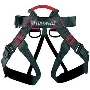 Edelweiss Klettergurt Challenge HG Gurtfarbe - Schwarz, Gurtart - Hüftgurt, Gurtgewicht - 301 - 400 g, Gurtgröße - Universal,